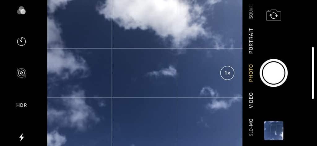 קווי רשת צילום בסמארטפון